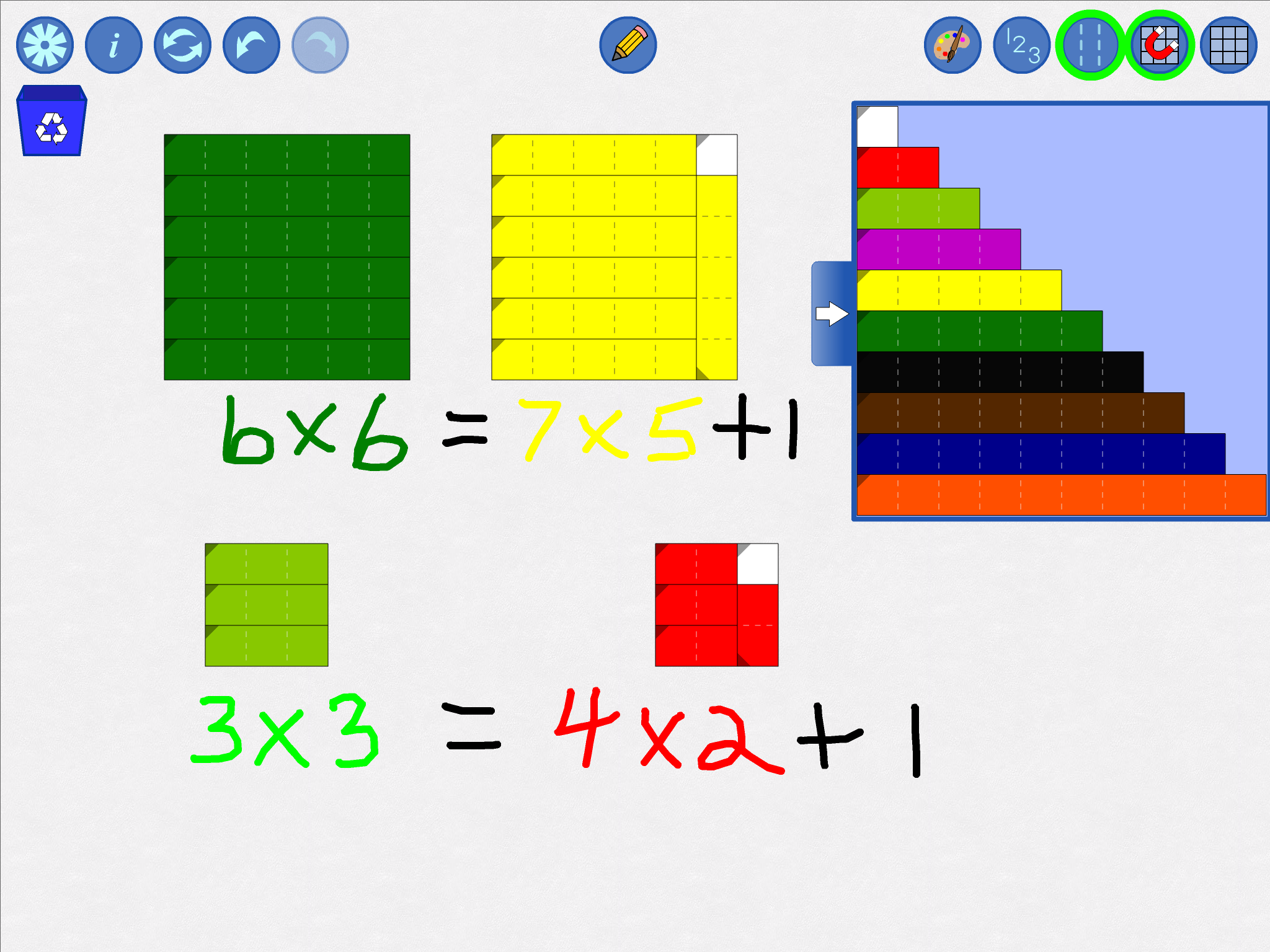picture relating to Cuisenaire Rods Printable known as Relational Rods+